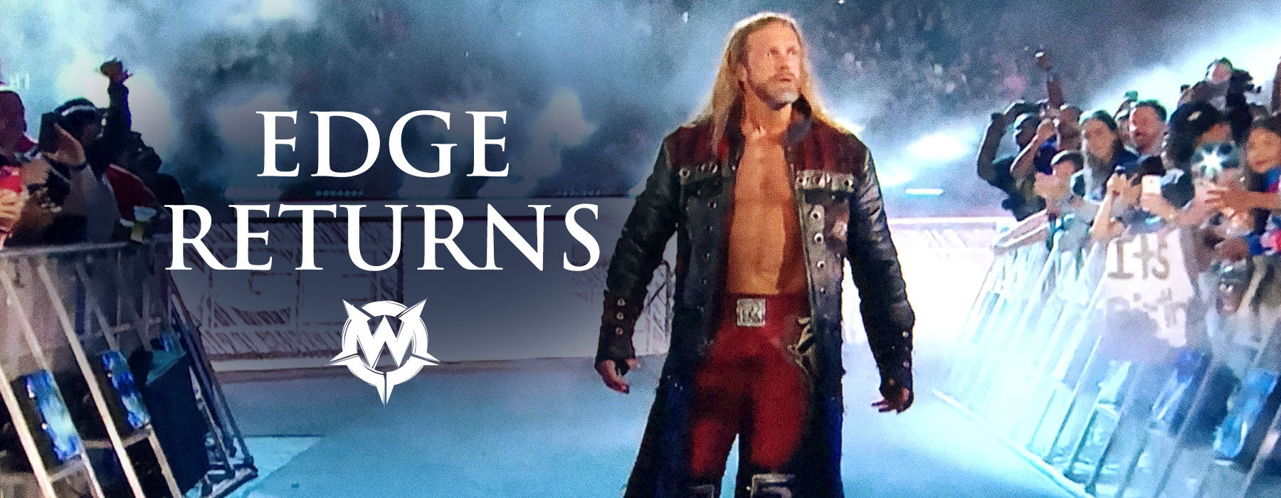 Edge Makes Surprise Return to WWE Royal Rumble with Wornstar Clothing