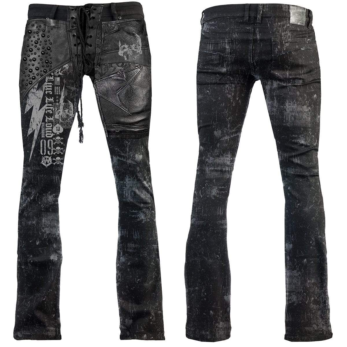 Charger Black Custom Pants