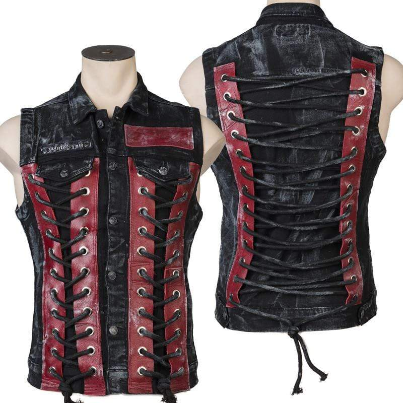 Crimson Smoke Deceiver Custom Vest