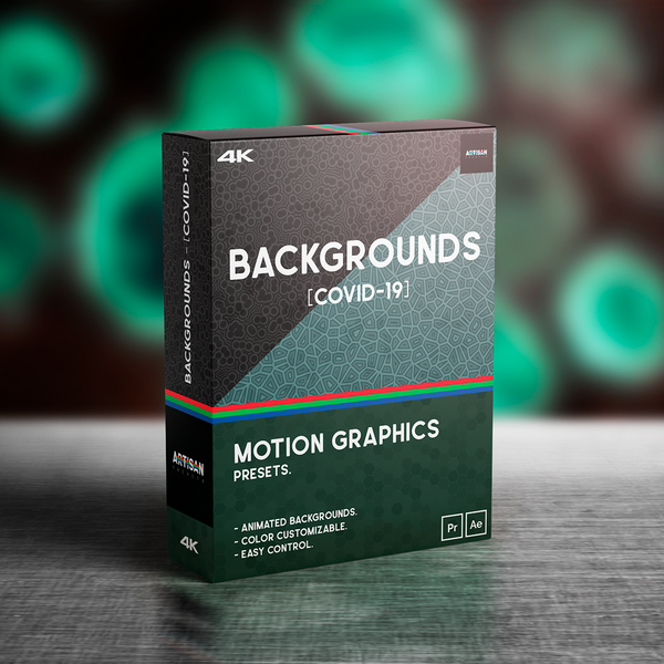 [COVID-19] BACKGROUNDS® //MoGRAPH Presets