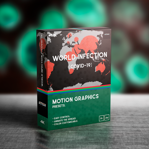 [COVID-19] WORLD INFECTION® //MoGRAPH Presets