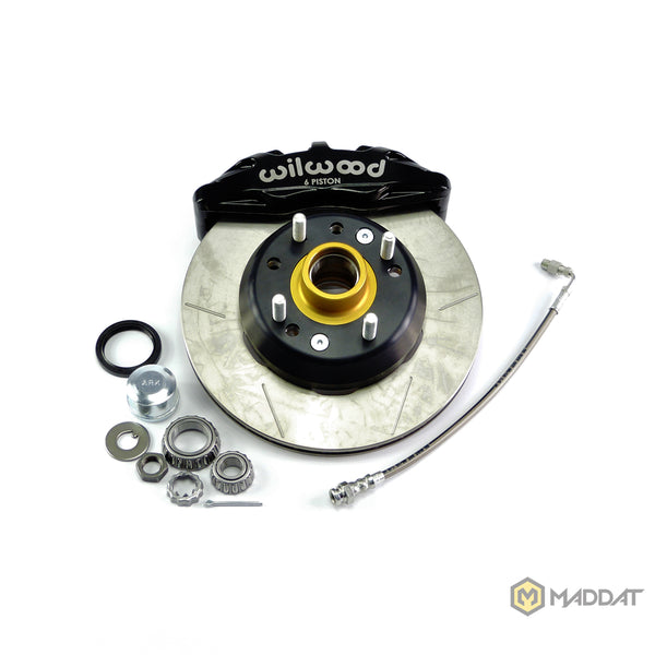 Front Brake Kit Wilwood 6 Piston