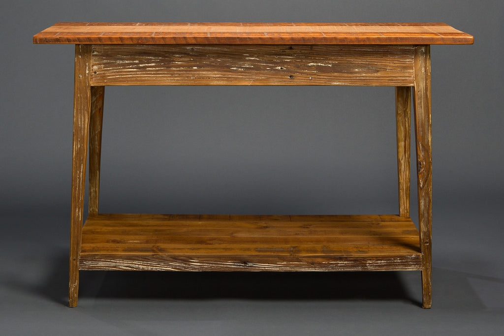 Signature Console With Shelf