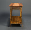 Signature Console With Shelf, Heart Pine or Cypress