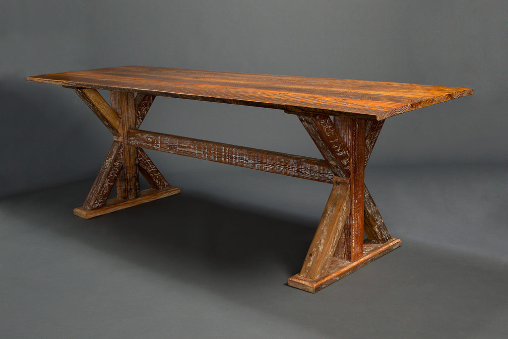 Trestle Base Signature Farm Table Landrum Tables