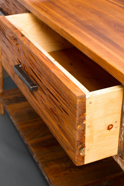 3 Drawer Side Board With Shelf Landrum Tables