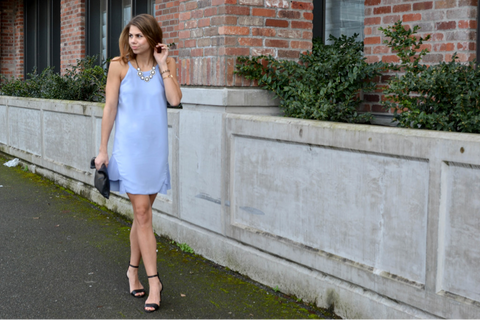 Fishbowl Fashion | Periwinkle Dress | SCOOBIE