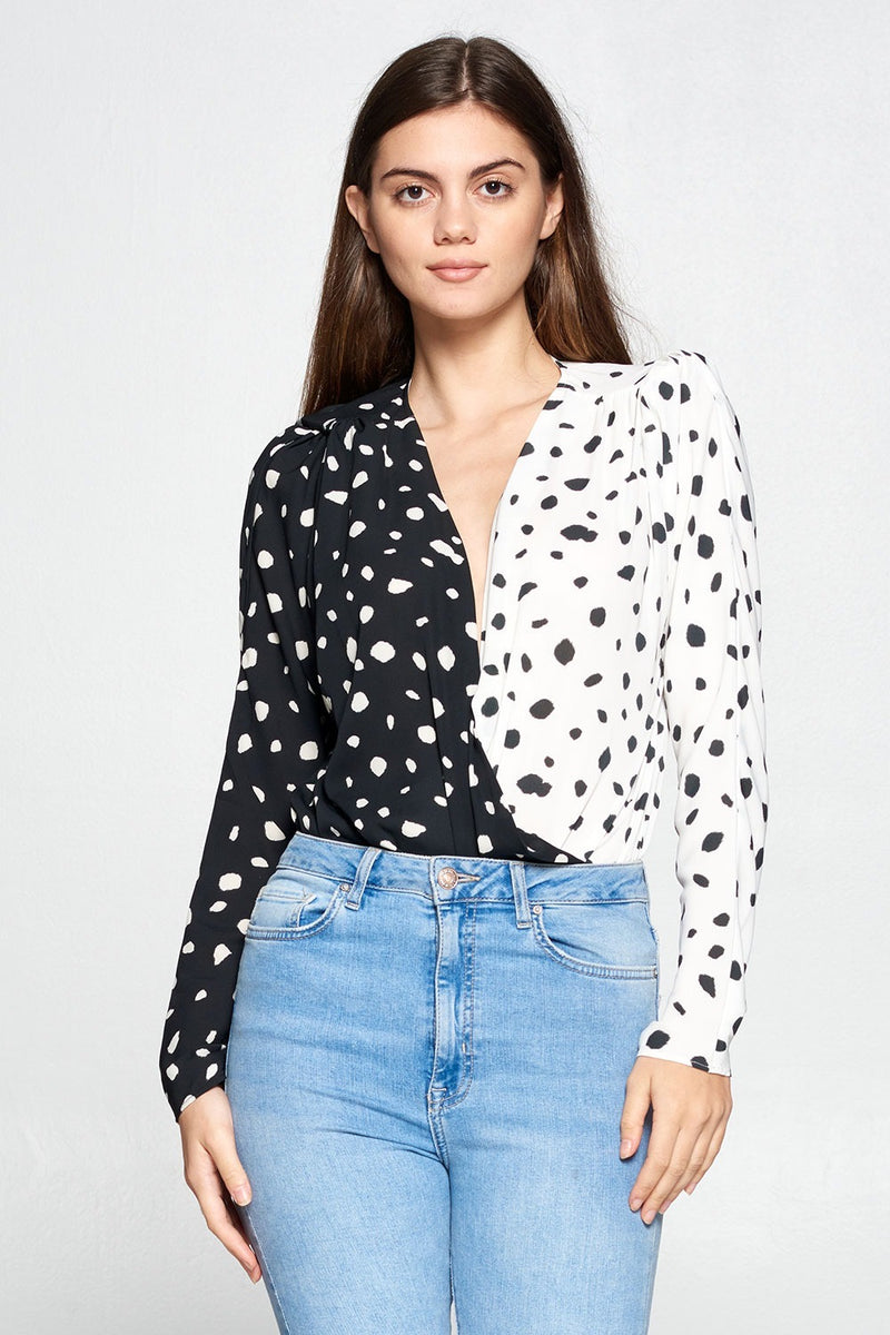Spotted Bodysuit