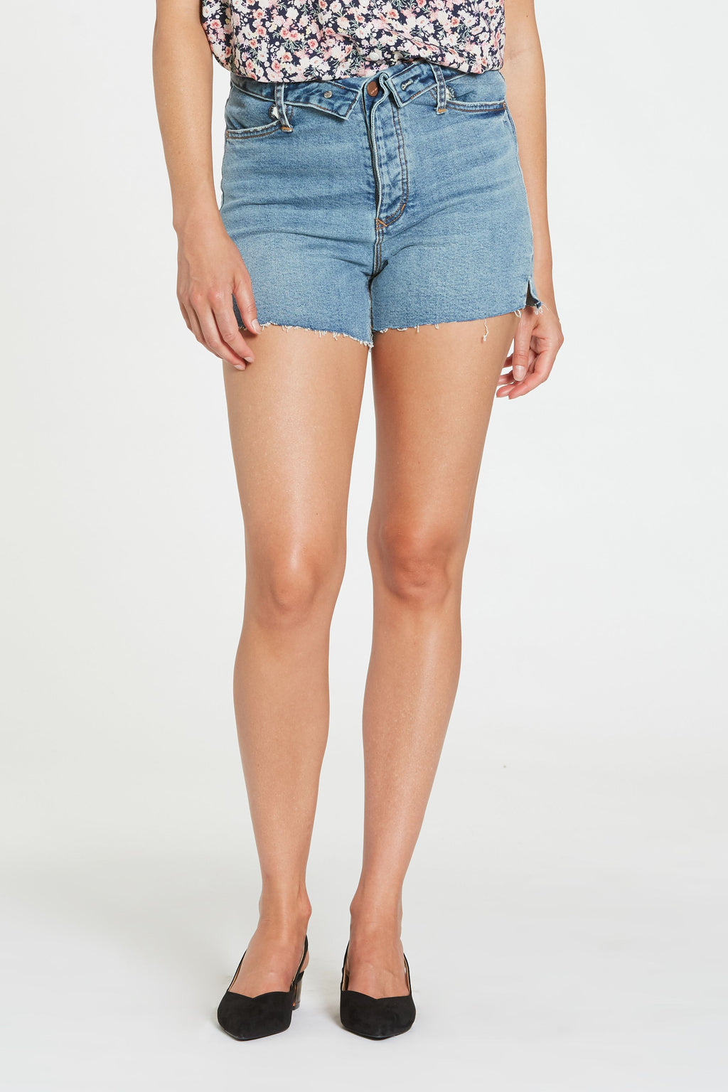 Devon Denim Short