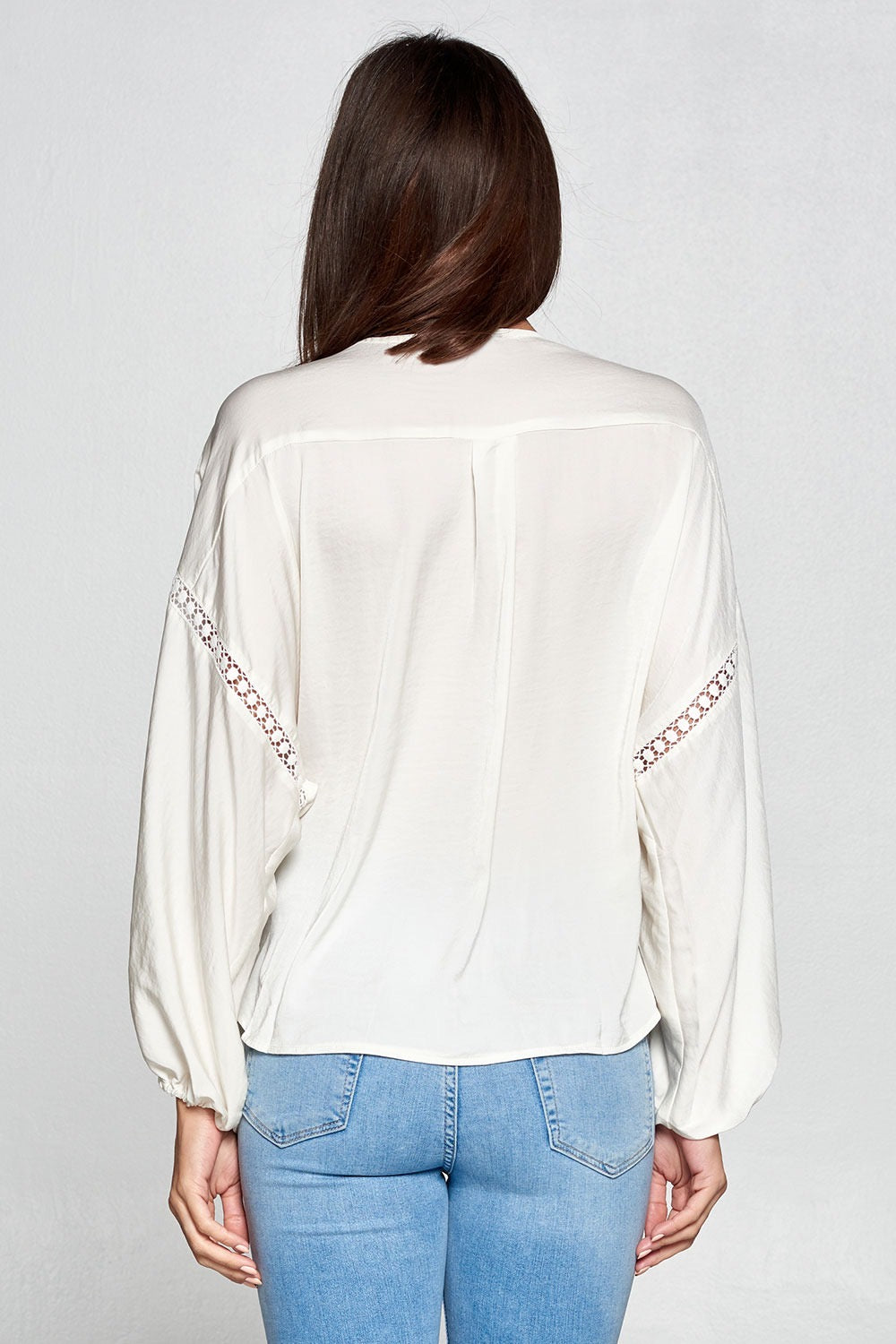 Ivory Crossover Top