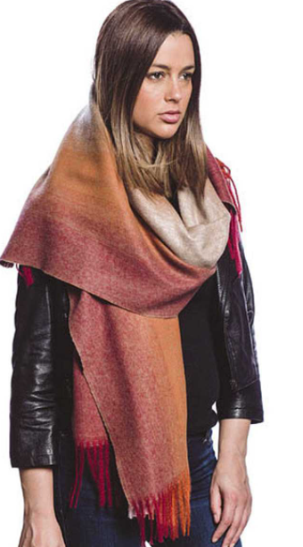 Soft Oblong Scarf