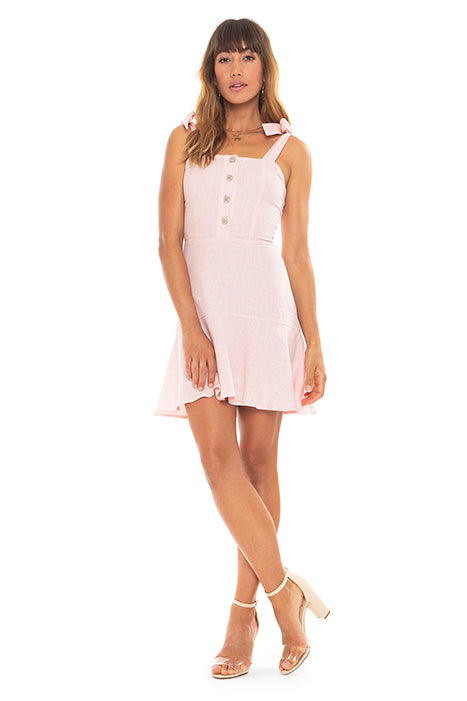 Light Pink Ruffle Dress