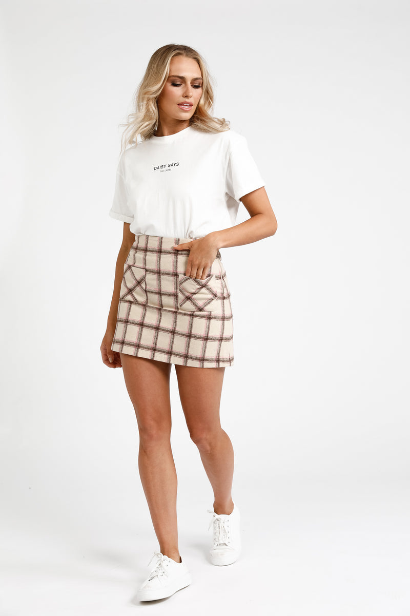 Beatnix Plaid Skirt
