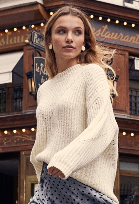 Neva Beige Sweater