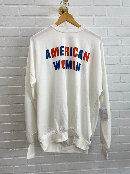 American Woman Cozy Top