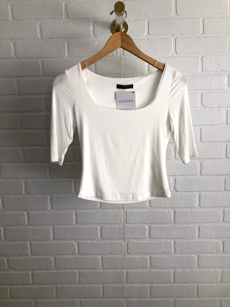 Double Layer Square Neck Top