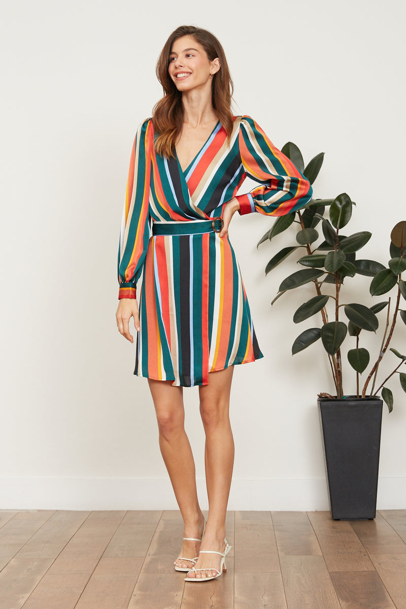Bethany Stripe Dress