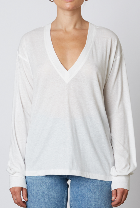 Deep V Boyfriend Long Sleeve