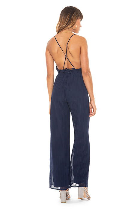 Midnight Blue Jumpsuit