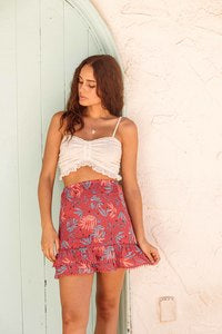 Still On Vacay Skirt