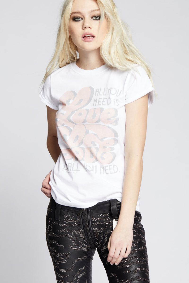 All You Need Is Love Band Tee