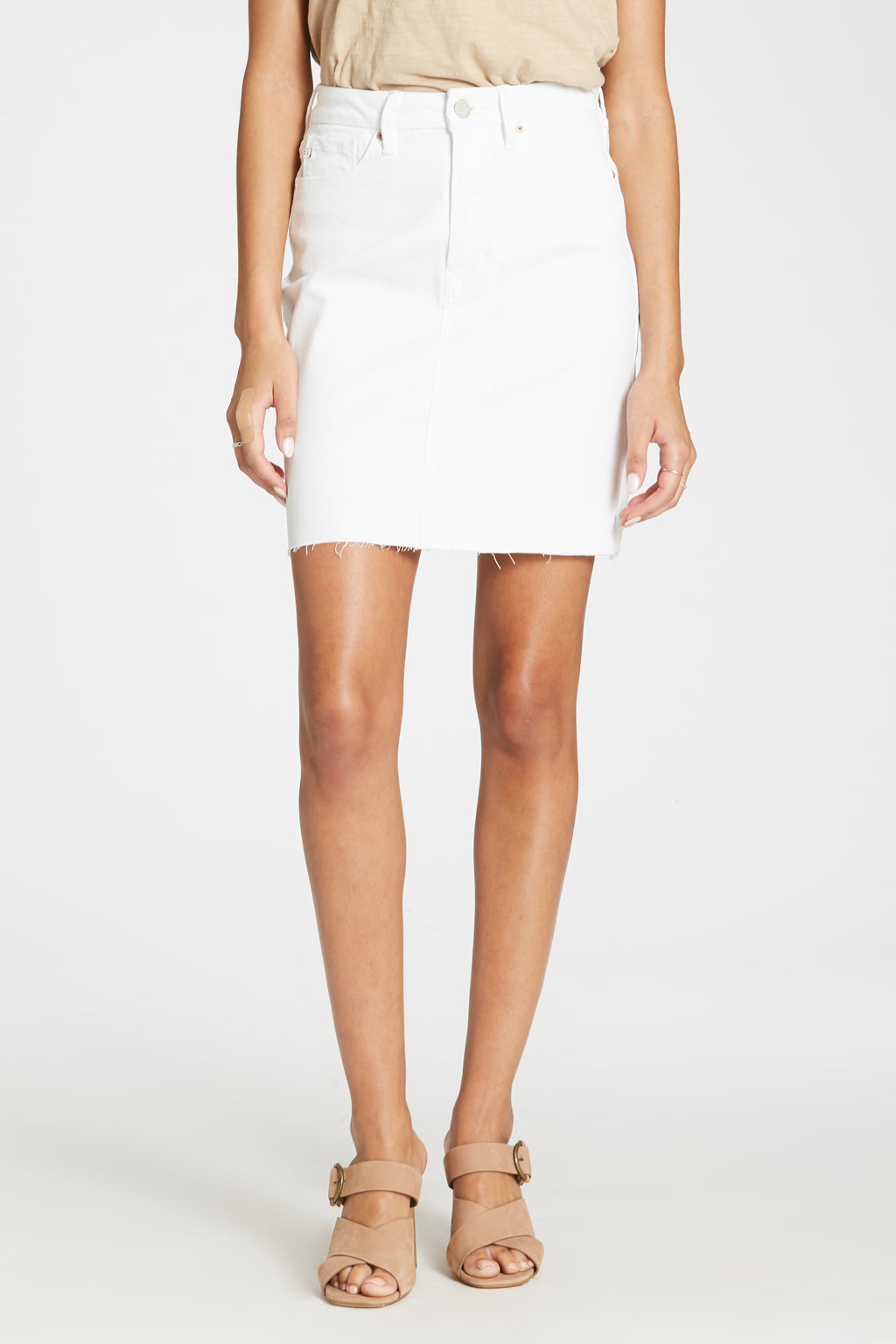 White Corey Skirt
