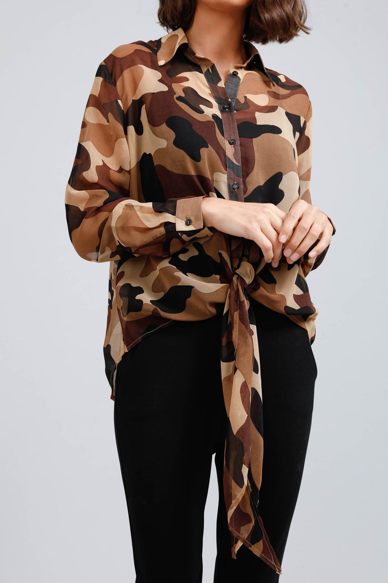 Alias Camo Top