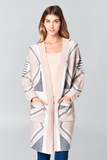 Pastel tribal cardigan