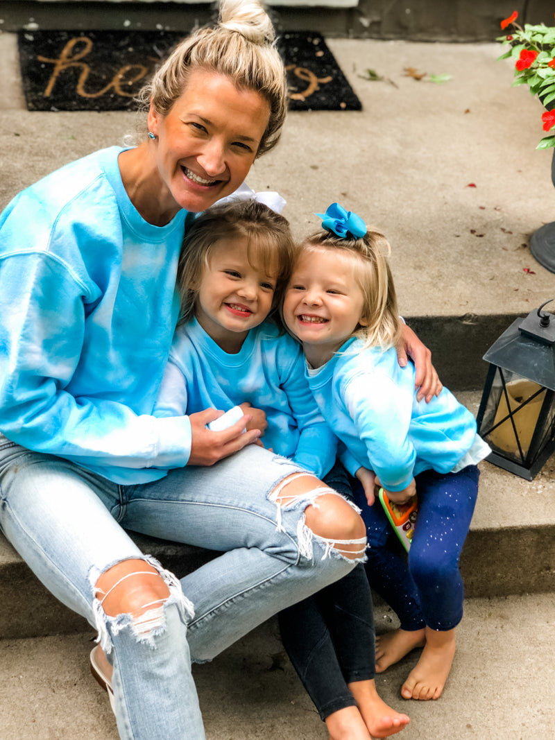 Adult - Mommy and Me Tie Dye Sweatshirt
