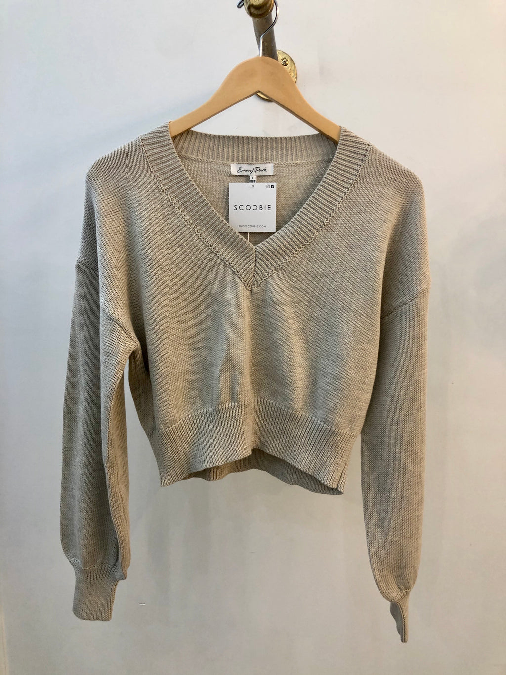 V-Neck Spring Sweater