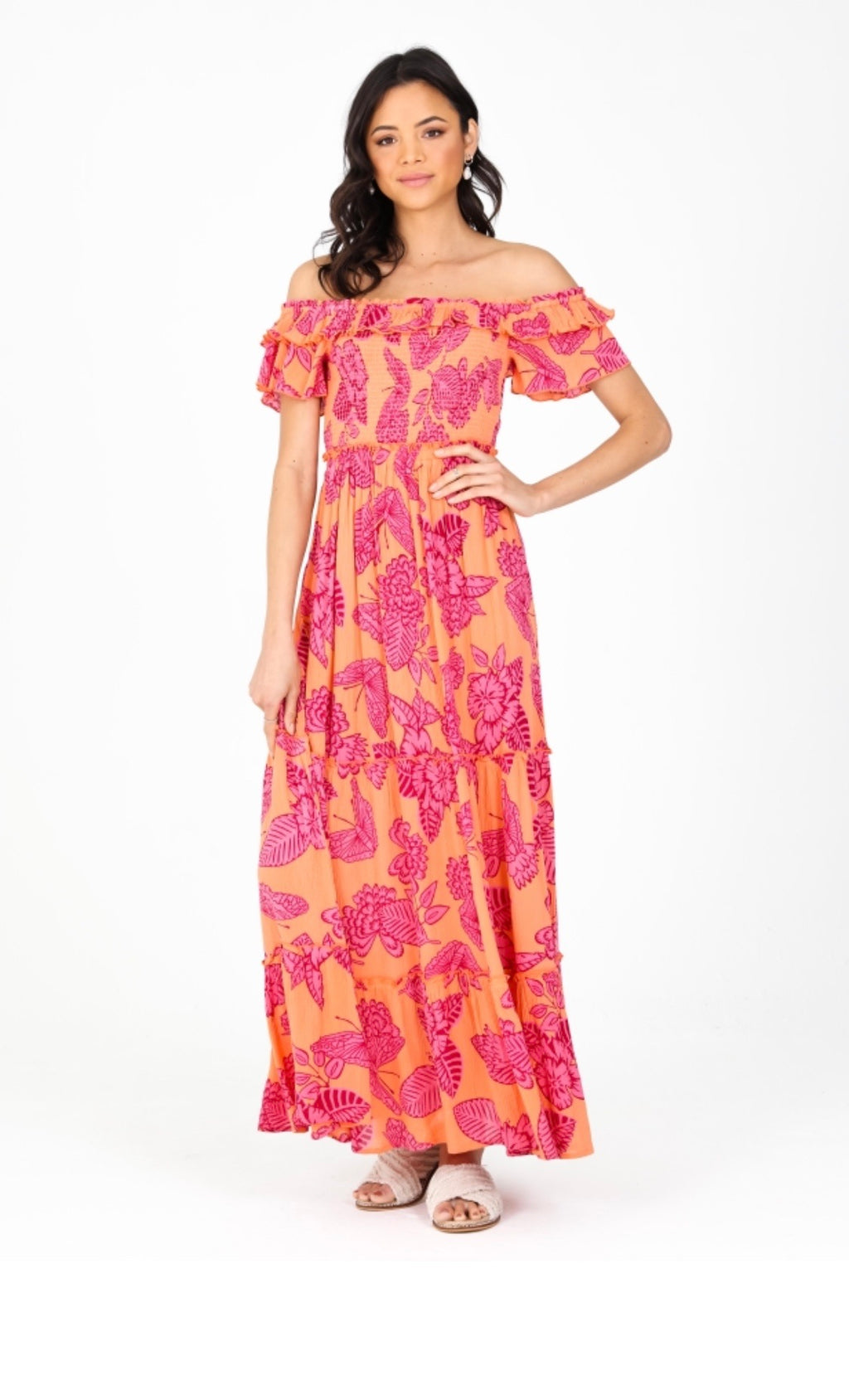 Sophie Off-Shoulder Maxi