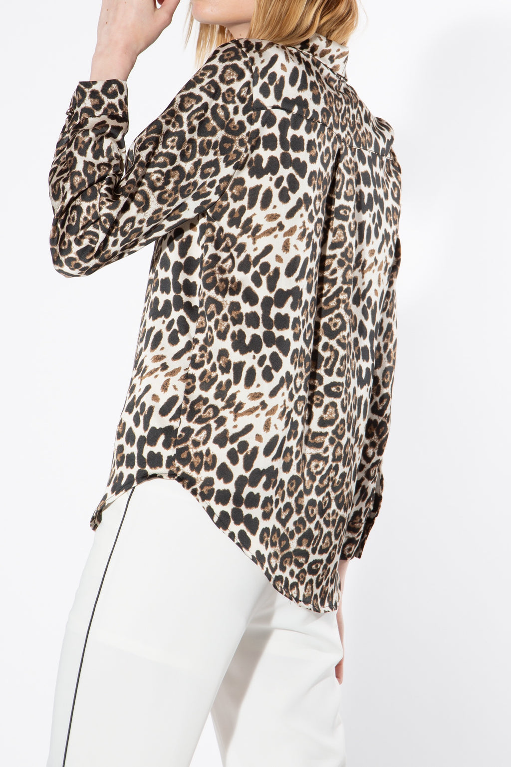 Animal Print Button Up