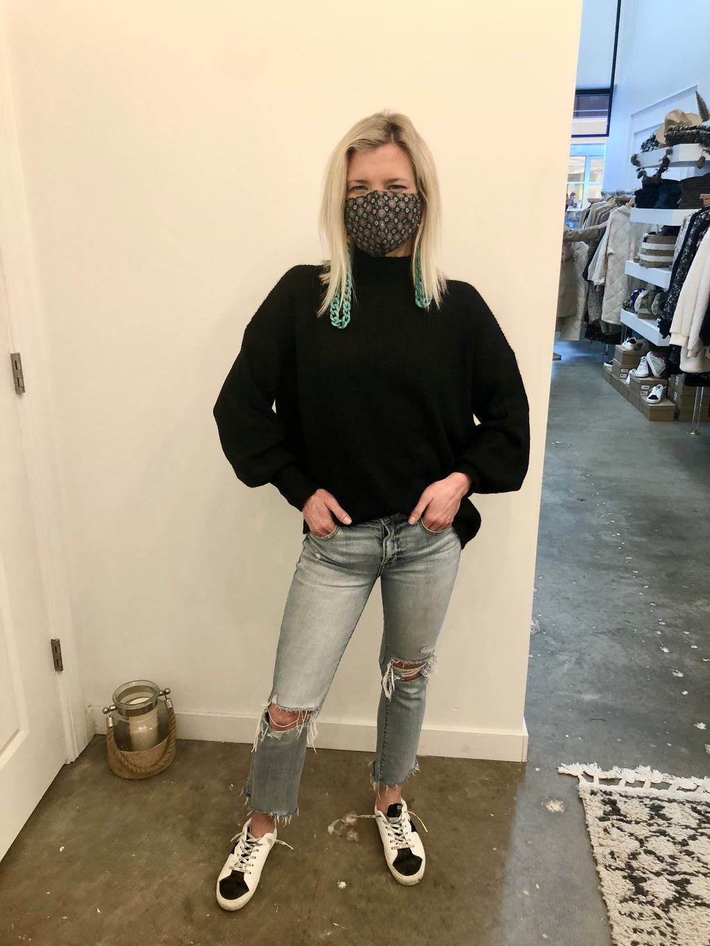 Black Key Sweater