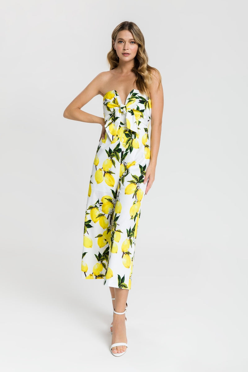 Lemon Printed Jumpsuit
