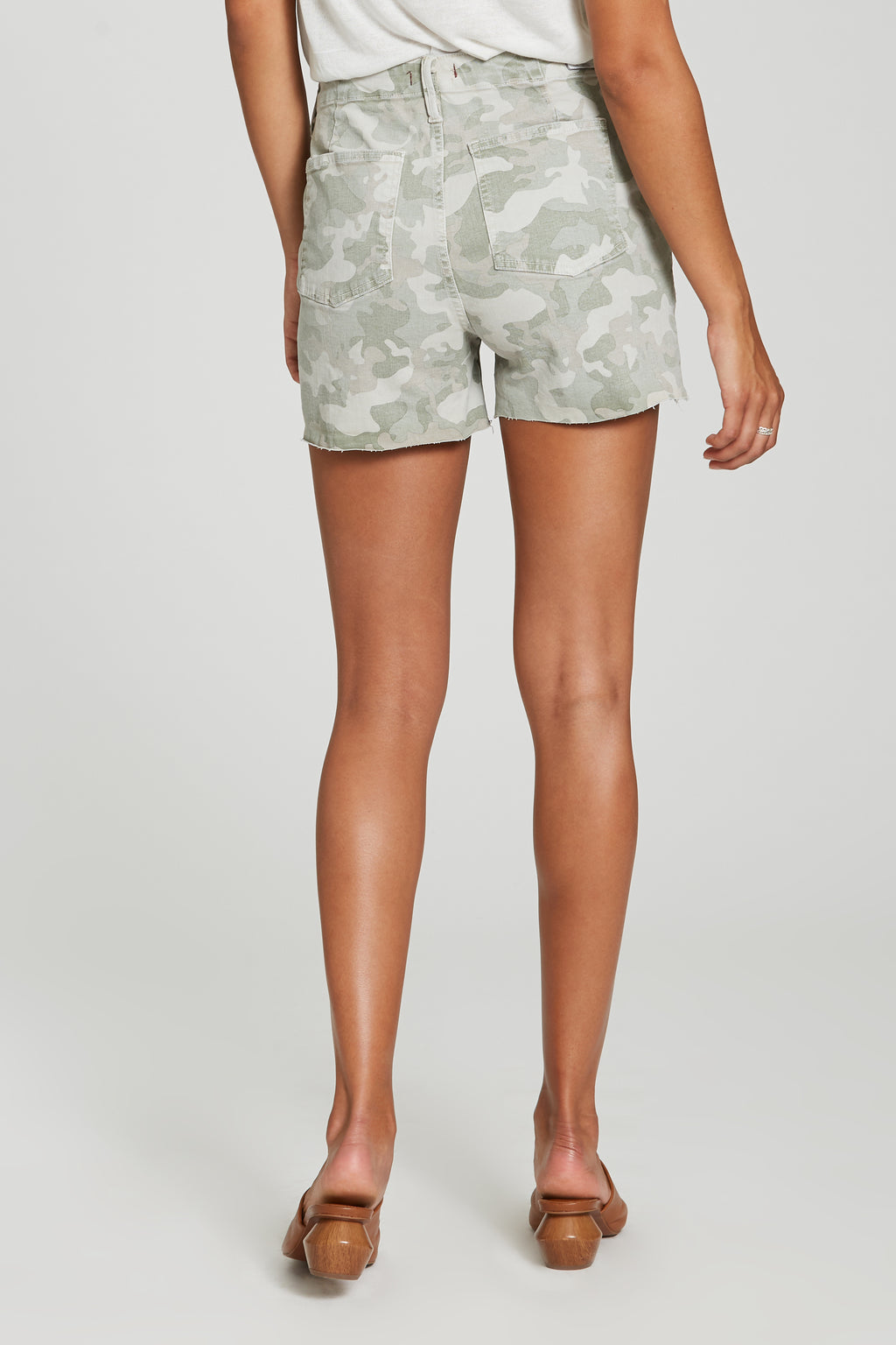 Ollie Camo Denim Short