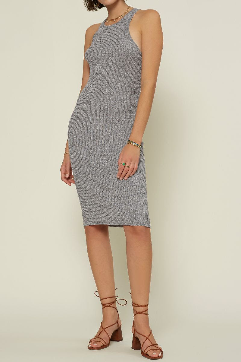 Grey Tank Sweater Dress