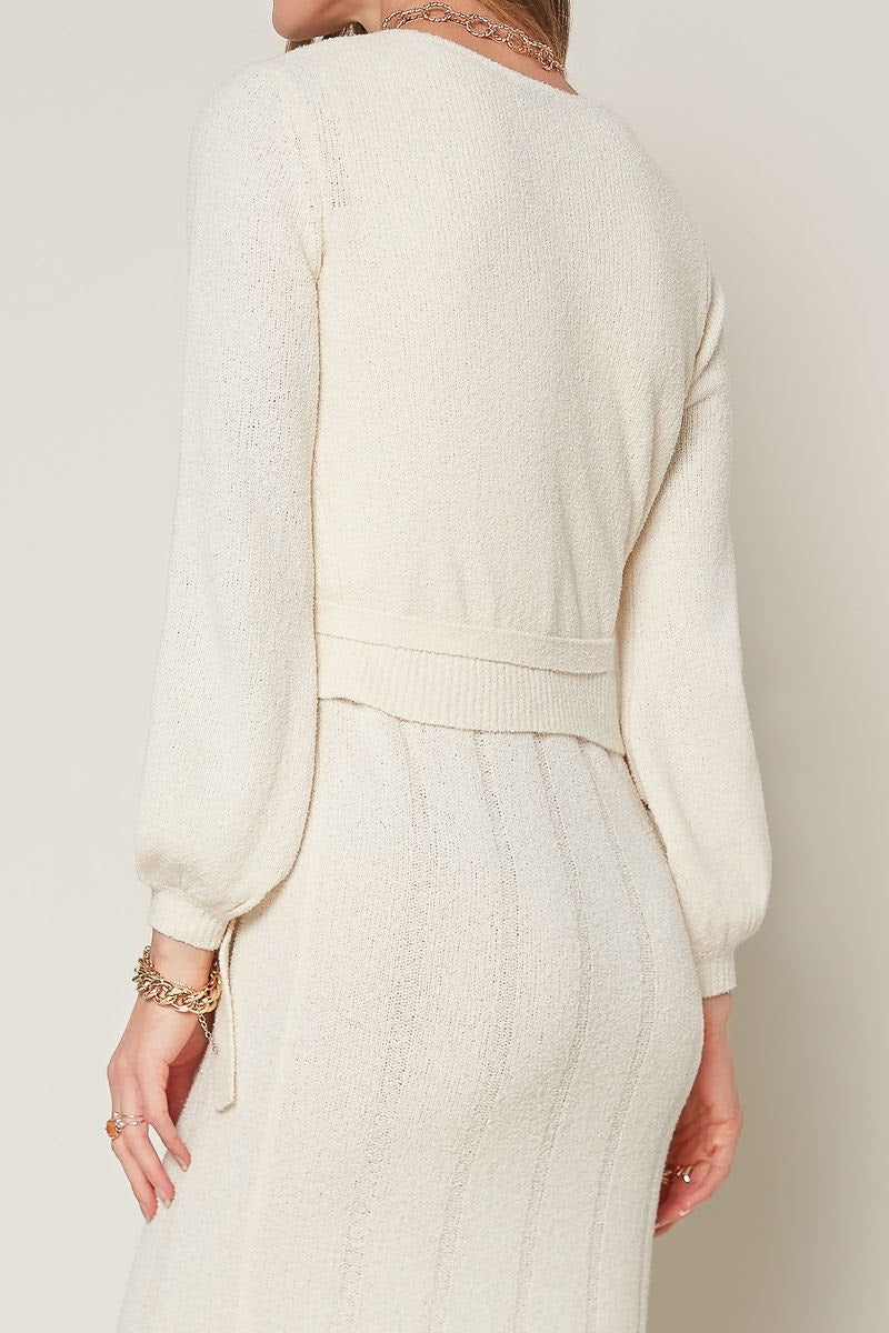 Tie Wrap Sweater