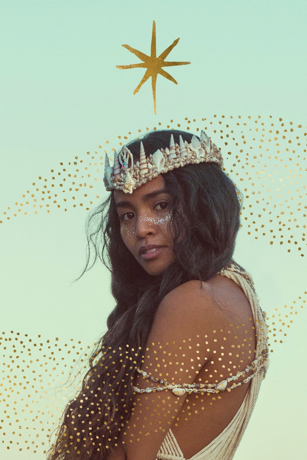 Cosmic Queen Mermaid Crown - Wild & Free Jewelry