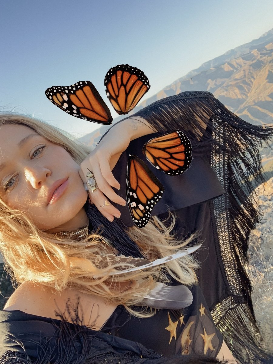 Digital Download | Monarch Butterfly Wings | PNG Files for Collage - Wild & Free Jewelry