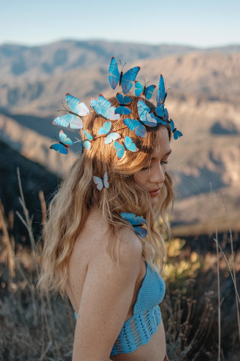 Electric Desert Butterfly Crown | Pre-Order - Wild & Free Jewelry