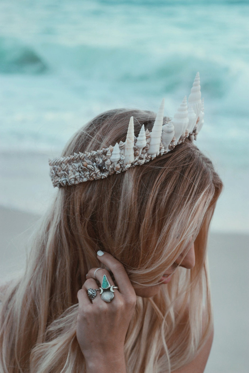 La Jolla Mermaid Tiara - Wild & Free Jewelry