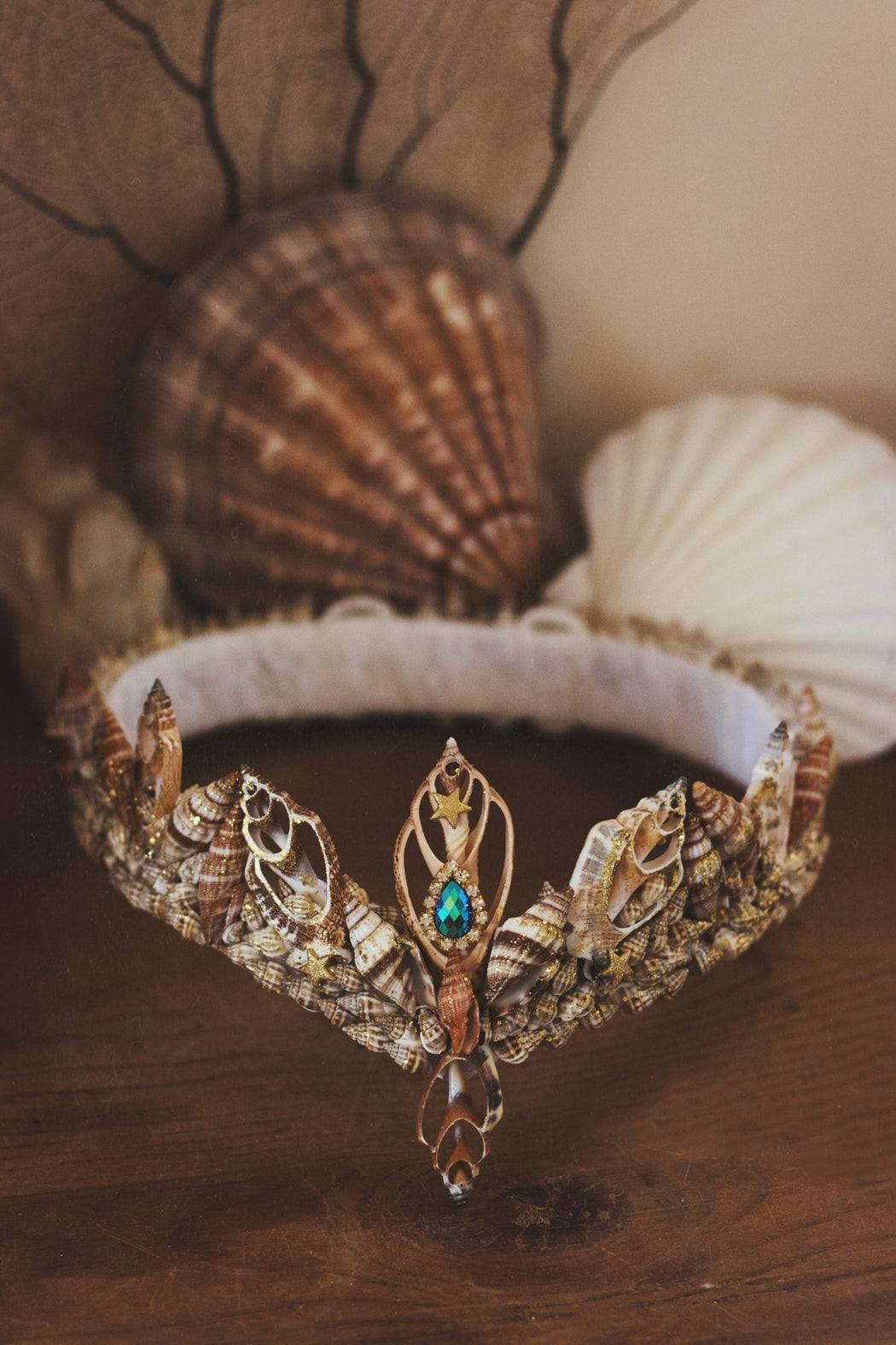 Lost at Sea Mermaid Crown - Wild & Free Jewelry