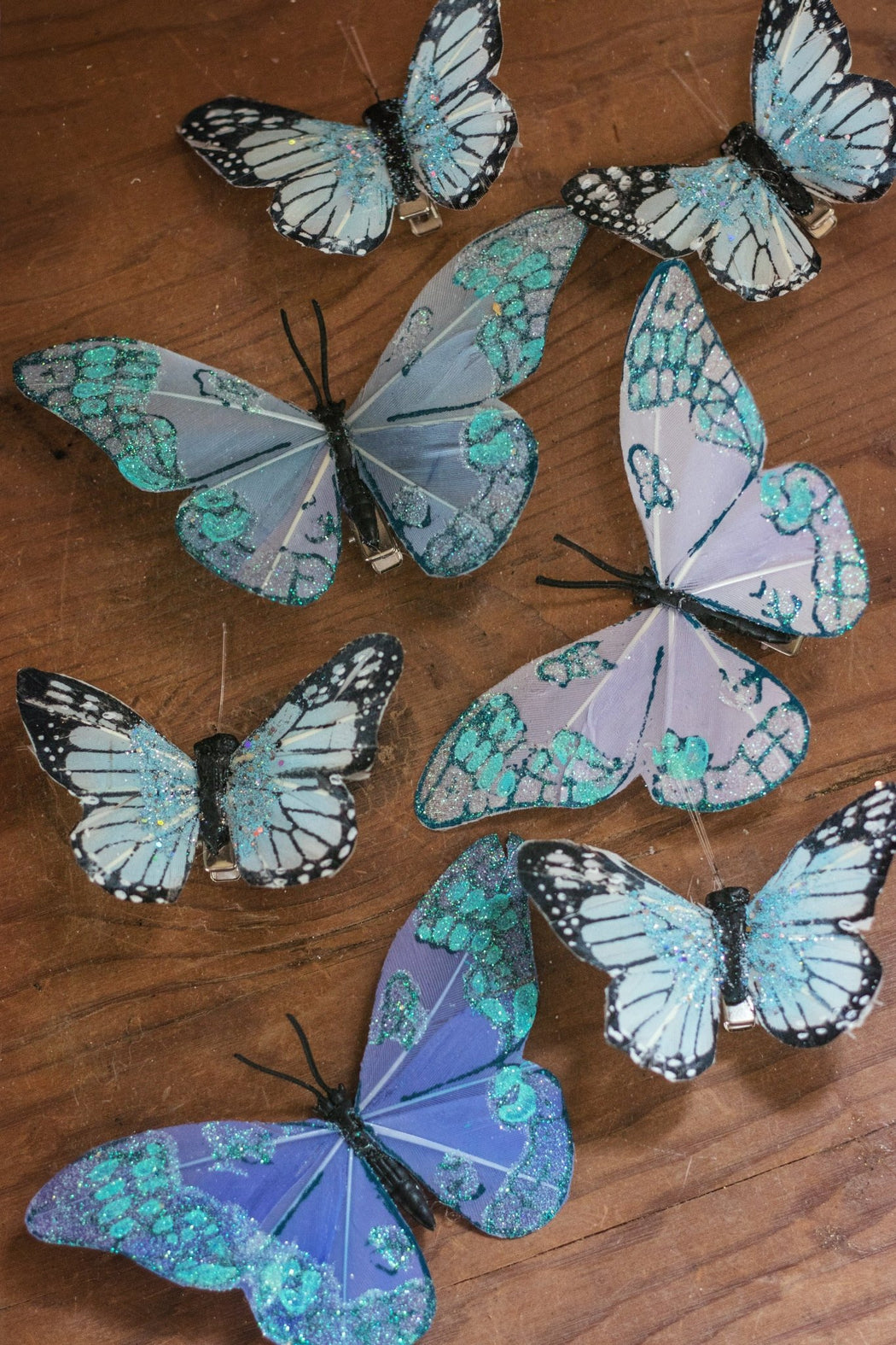 Summer Nights Dream Butterfly Hair Clips - Wild & Free Jewelry