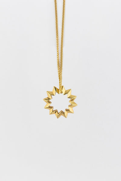Shock (Star) Necklace Gold