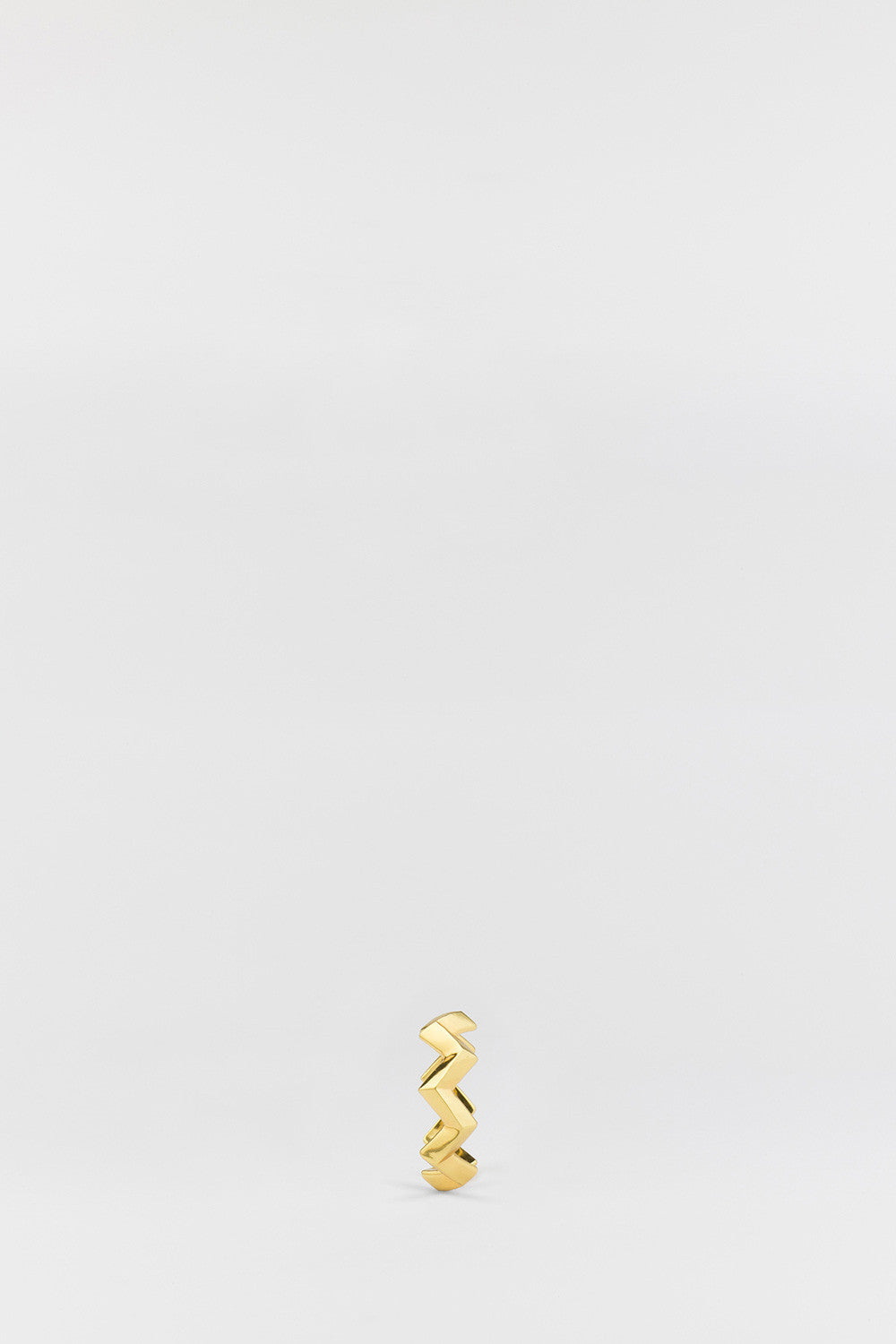 Circuit (Zig-Zag) Ring Gold