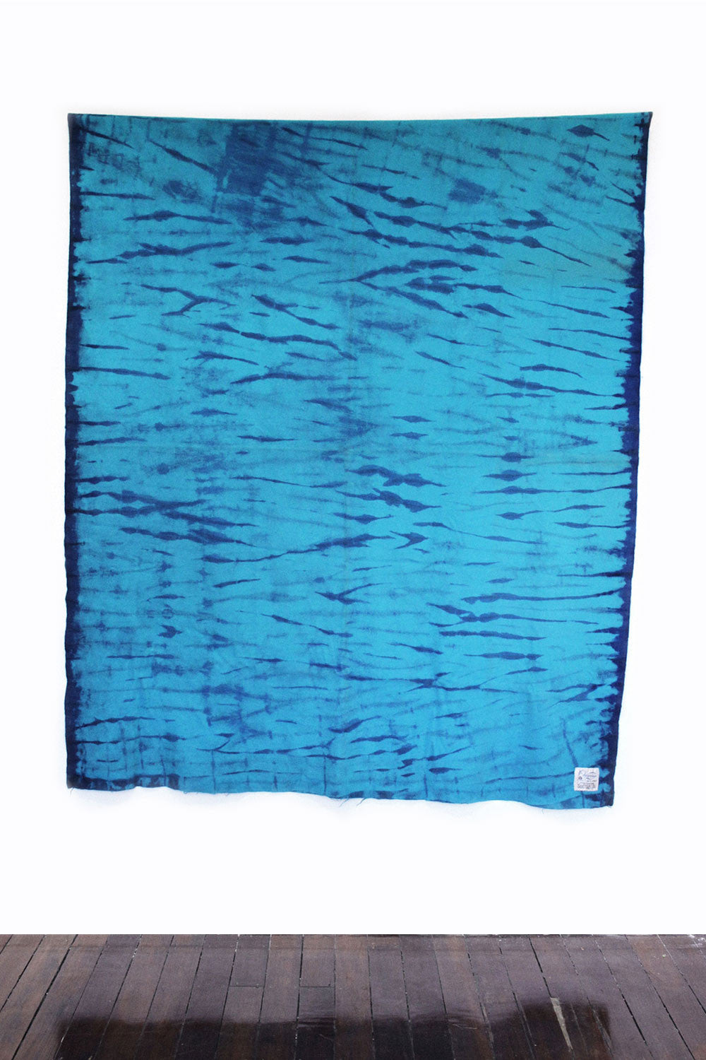 RE-UP BLANKET - Blue Crush (turquoise & navy)