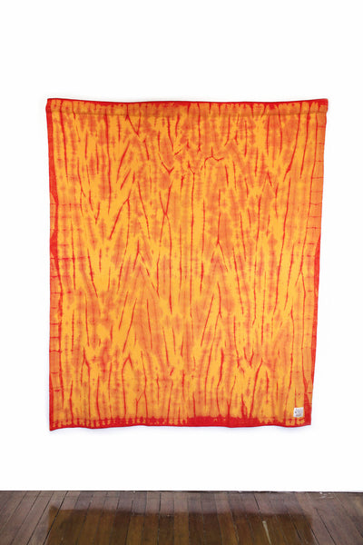 RE-UP BLANKET - Flaming Lamborghini (Yellow & Red)