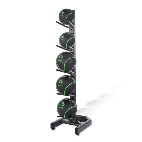 Medicine Ball Set with Rack