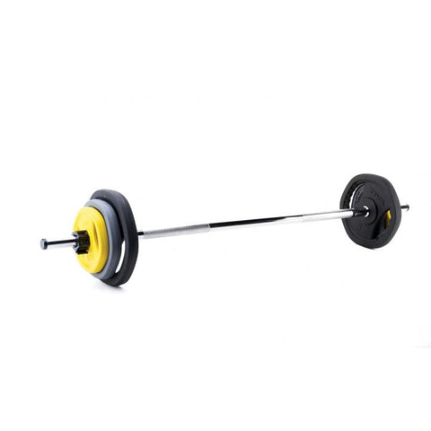 Ziva ZVO Rubber HX Studio Barbell Set