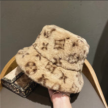 Load image into Gallery viewer, LV fuzzy bucket hat